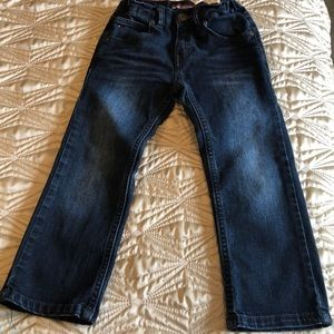 Navy Blue Denim Jean